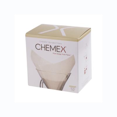 Chemex filtr papierowy kwadratowy - 6-10 filiżanek - Etno Cafe