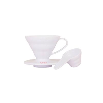 Coffe dripper plastikowy V60 01 Biały - Etno Cafe