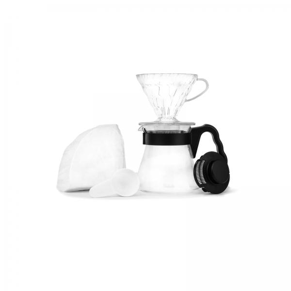 Zestaw Hario V60 Pour Over Kit - drip + dzbanek + filtry - Etno Cafe