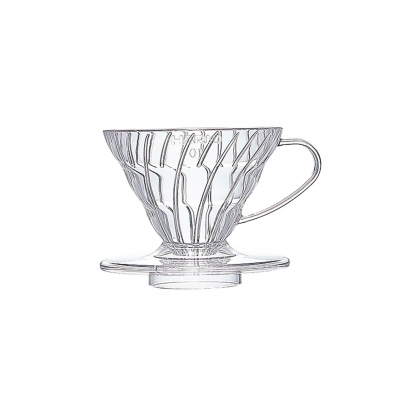 Coffee dripper plastikowy V60 01 Clear - Etno Cafe