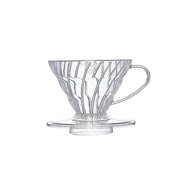 Coffee dripper plastikowy V60 01 Clear - Etno Cafe