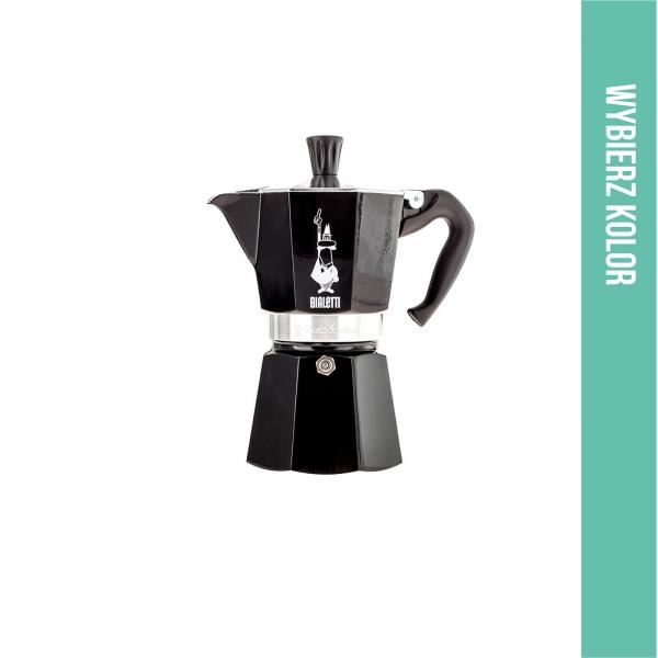 Moka Bialetti Express 6tz czarna - Etno Cafe