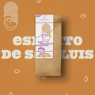 Wroasters Espirito de San Luis - waka ziarnista - Etno Cafe