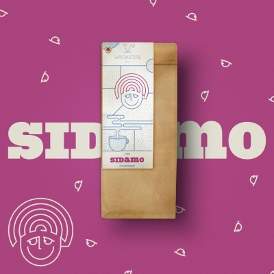 Wroasters Sidamo - kawa ziarnista - Etno Cafe