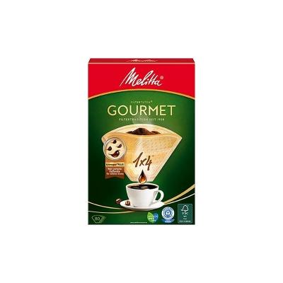 Filtry papierowe Melitta 1x4 Gourmet