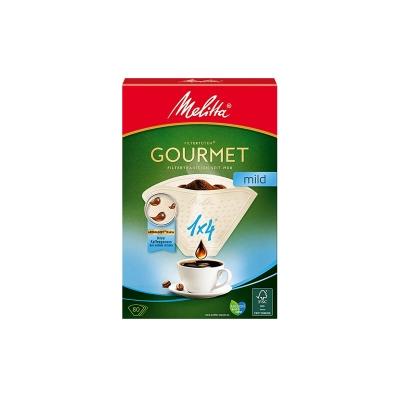 Filtry papierowe Melitta 1x4 Gourmet Mild