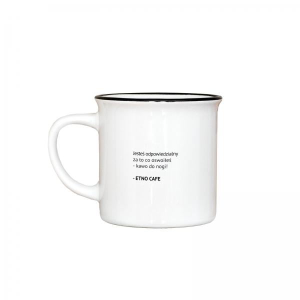 """Kubek ceramiczny """"Dobra kawa"""" - Etno Cafe"""