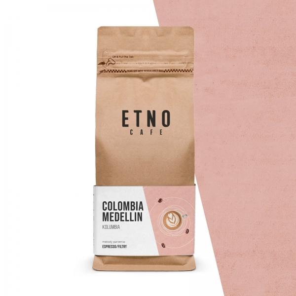 Colombia Medellin - kawa ziarnista Etno Cafe