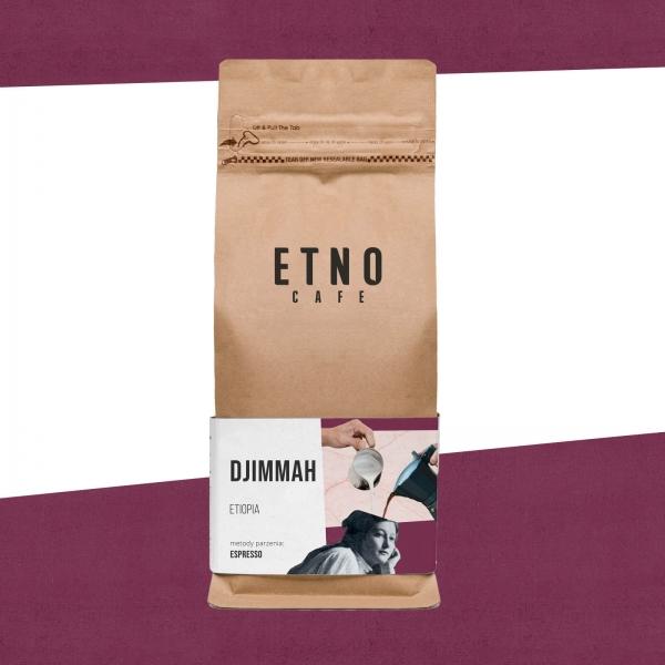 Djimmah - kawa ziarnista Etno Cafe