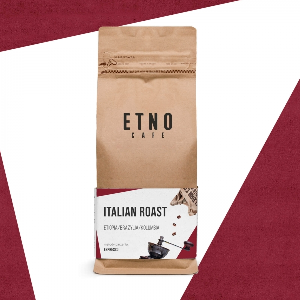 Italian Roast - kawa ziarnista Etno Cafe