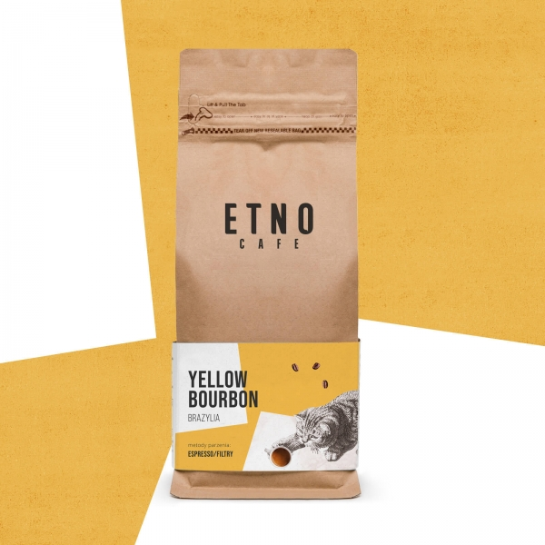 Yellow Bourbon - kawa ziarnista Etno Cafe