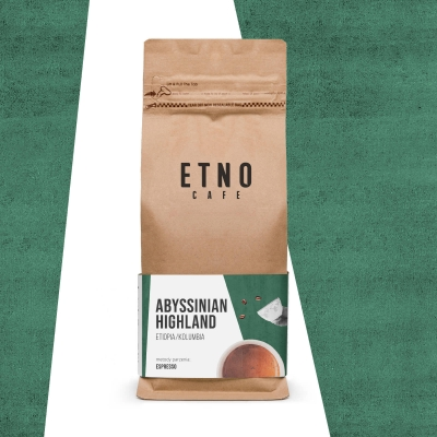 Abyssinian Highland - kawa ziarnista Etno Cafe