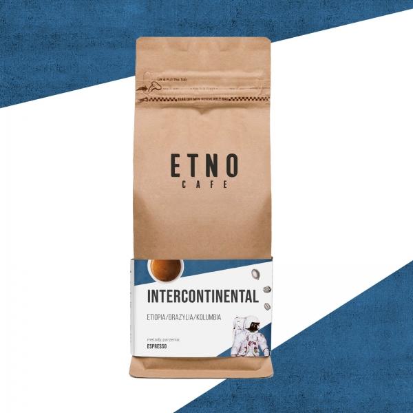 Intercontinental - kawa ziarnista Etno Cafe