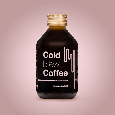 Cold Brew Coffee Spicy Caramel