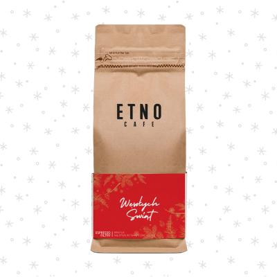Kawa ziarnista Wesołych Świąt Etno Cafe
