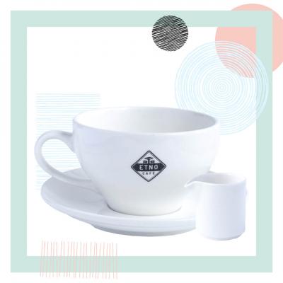 Filiżanka Etno Cafe 300 ml x mlecznik