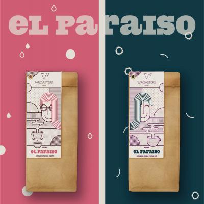 Zestaw Wroasters El Paraiso  dwie obróbki