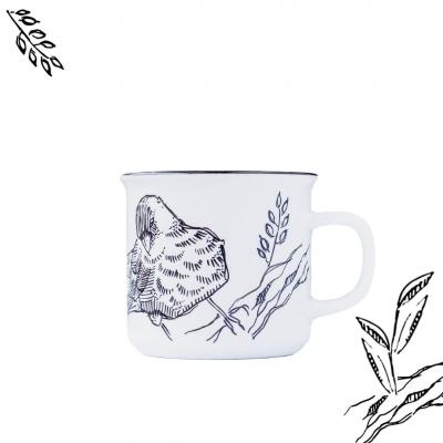 """Kubek ceramiczny Etno Cafe ręcznie malowany """"SŁODKA kawka"""""""