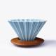 Drewniana podstawka - Origami dripper